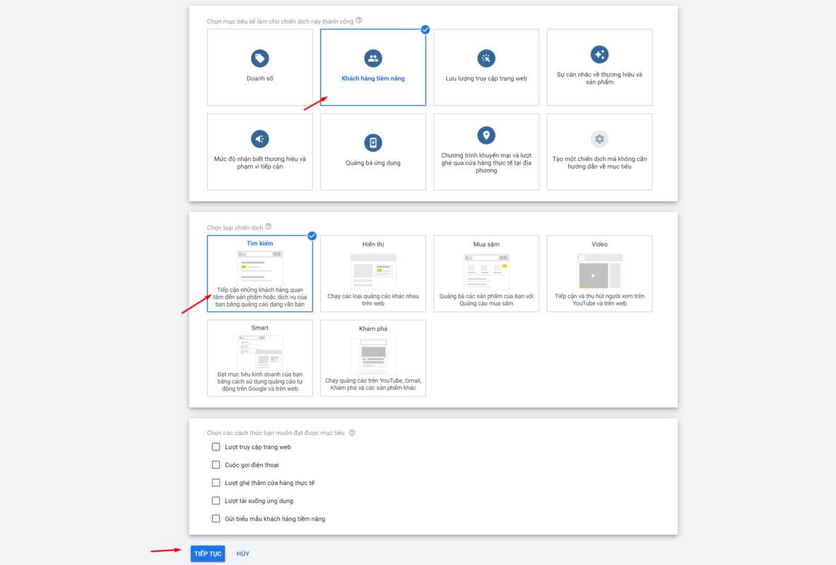 Hướng Dẫn Tạo Quảng Cáo Google Ads BĐS